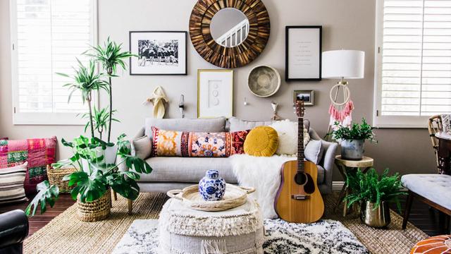 Inspirasi-Furniture-Ruang-Tamu-untuk-Berbagai-Gaya-Dekorasi-boho2