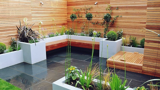 Inspirasi 7 Desain Taman Tropis Modern Minimalis