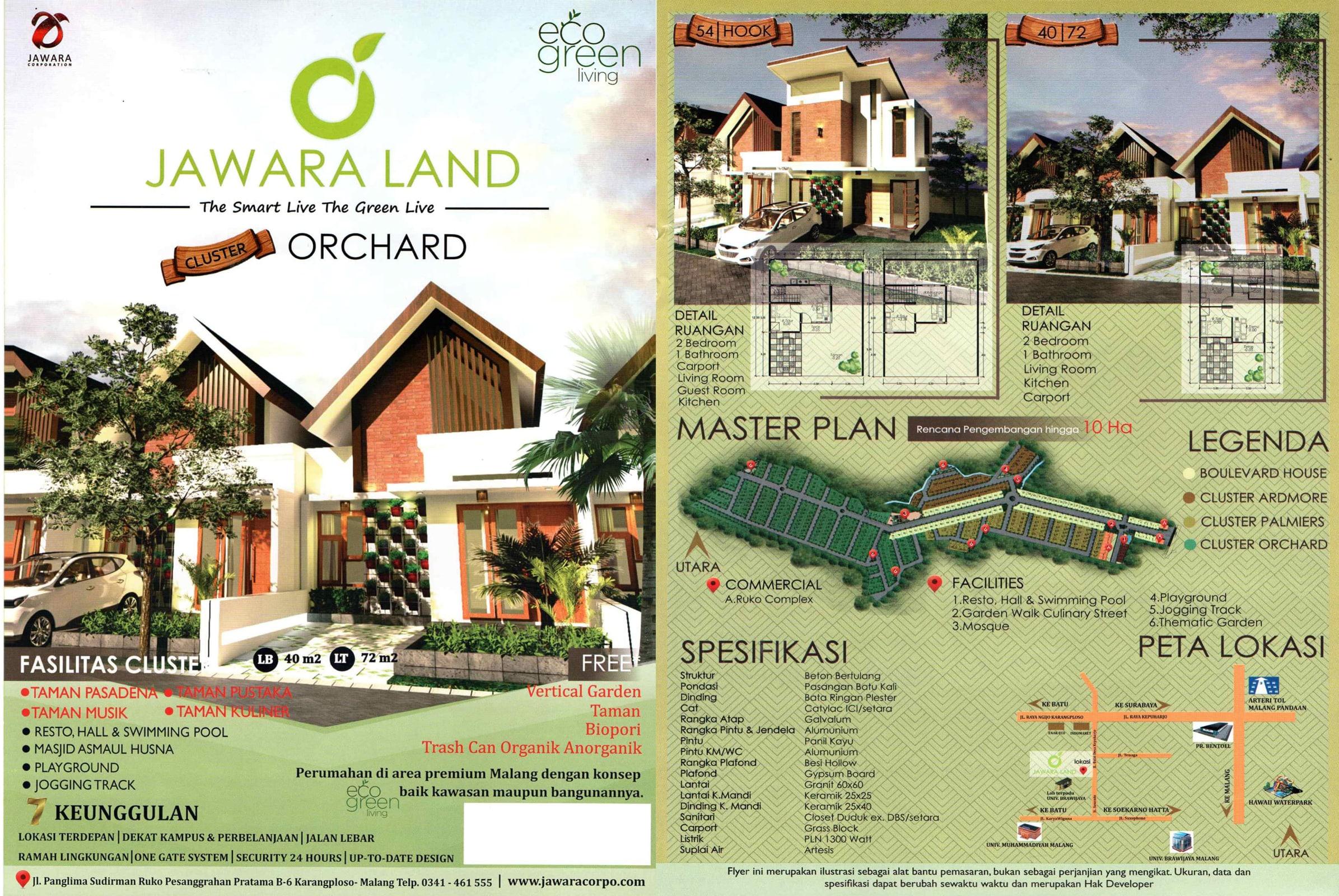 Perumahan Jawara land Malang