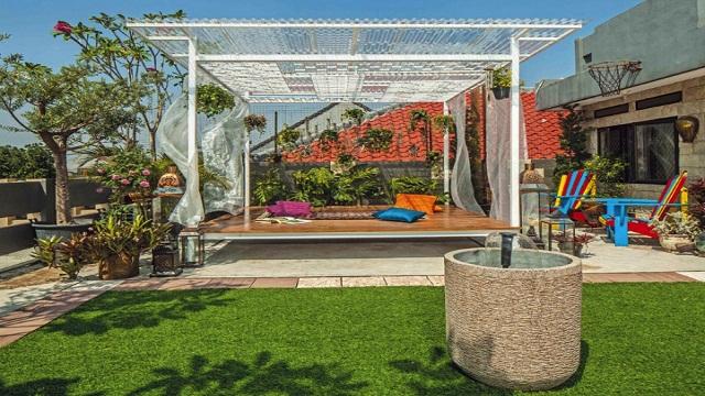 Taman Minimalis Modern Dengan Desain Unik 2018