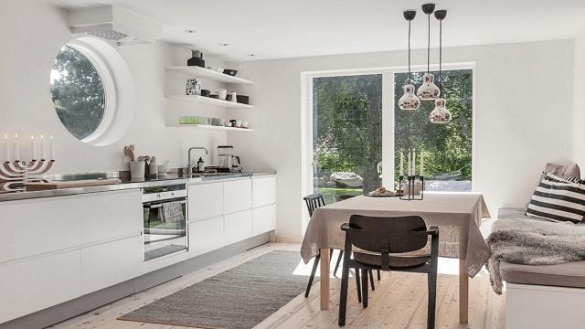 Rekomendasi Desain Interior Ruang Dapur Gaya Skandinavia