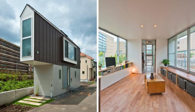 Desain Rumah Minimalis Modern Ala Jepang