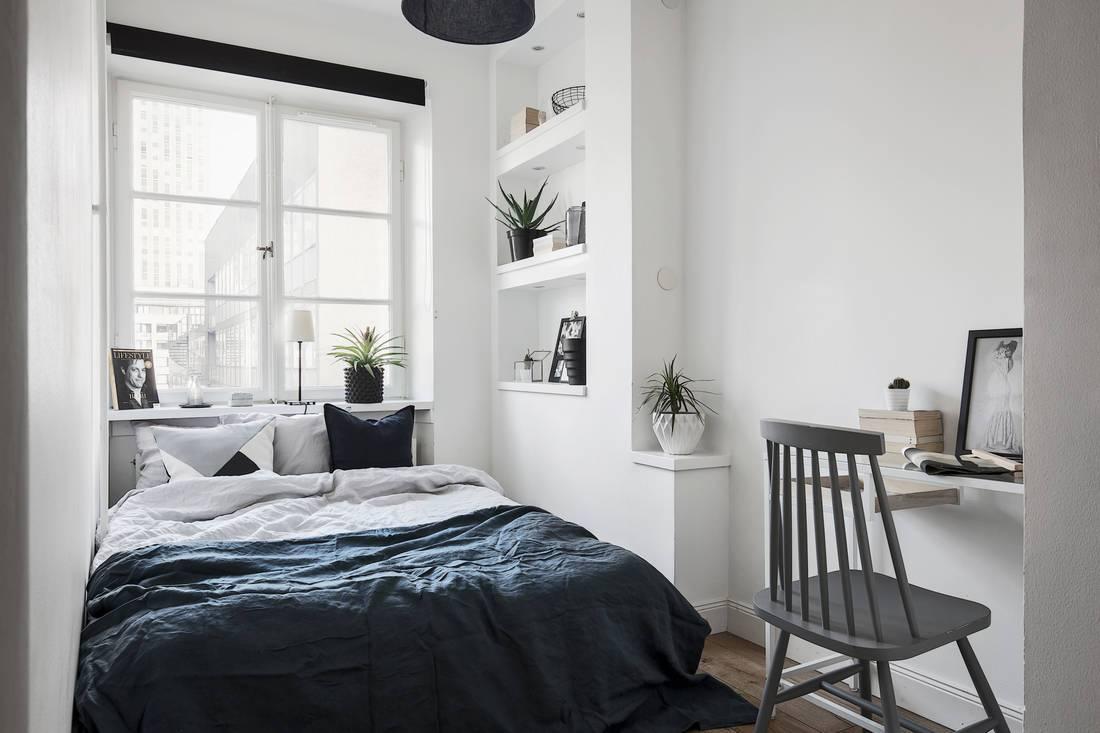 5 Inspirasi Desain Kamar Tidur Monokrom Modern