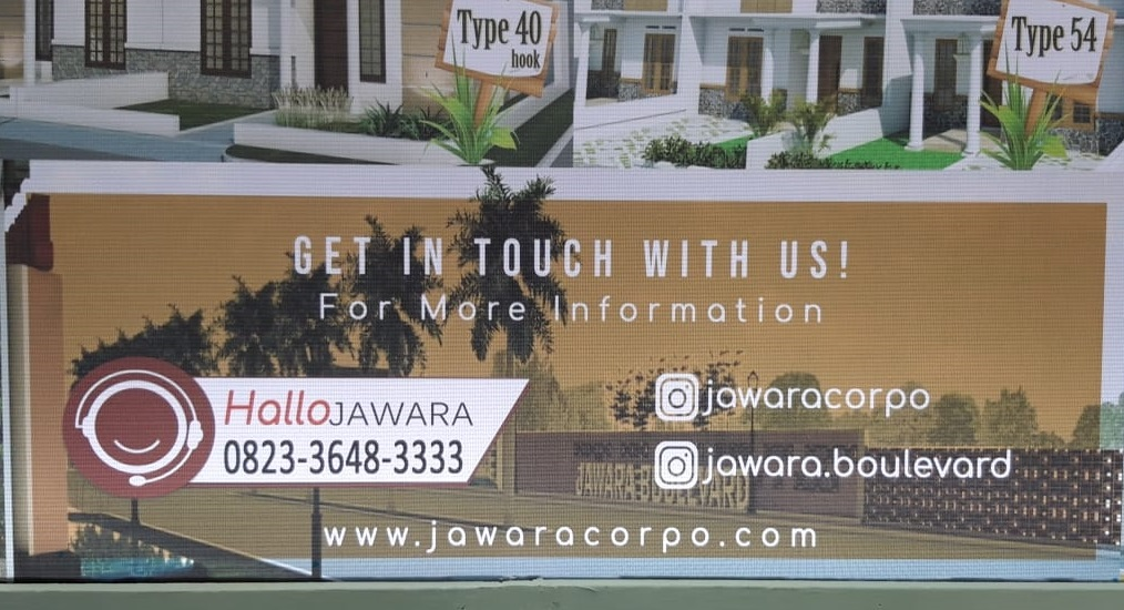 PAMERAN PERDANA JAWARA CORPORATION PADA EVENT EXPO PROPERTY MALANG 2019