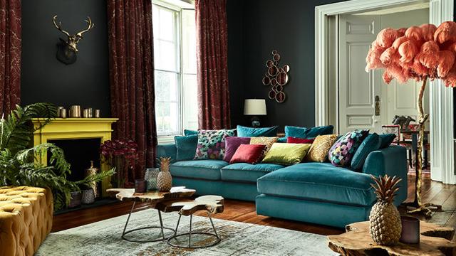 Inspirasi-Furniture-Ruang-Tamu-untuk-Berbagai-Gaya-Dekorasi-eklektik