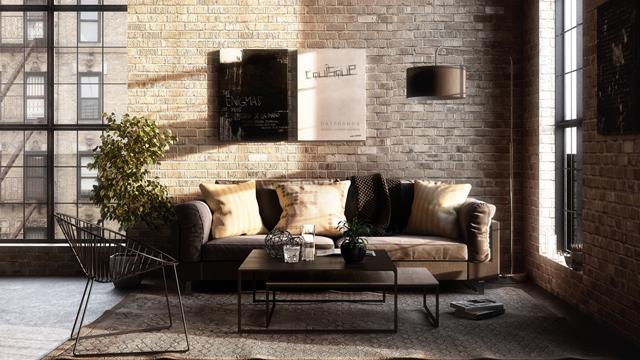 Inspirasi-Furniture-Ruang-Tamu-untuk-Berbagai-Gaya-Dekorasi-industri2