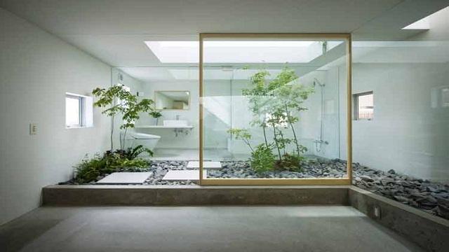 Ide Dekorasi Desain Taman Indoor Minimalis Modern 2018