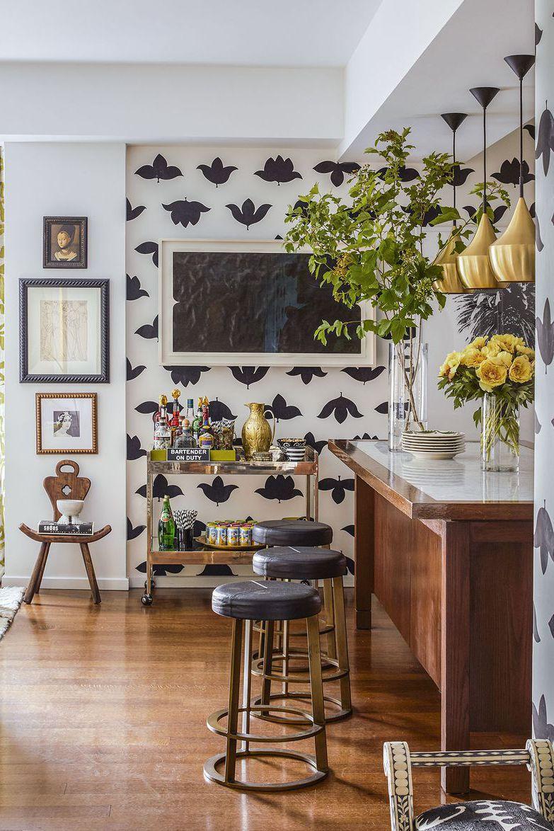 7-Inspirasi-Dapur-Terlihat-Klasik-dengan-Hitam-dan-Putih-pola