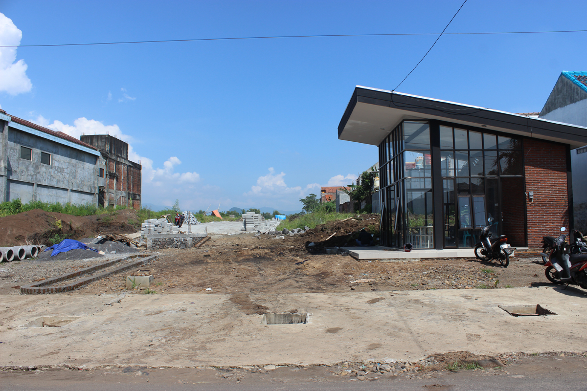 Progres Februari 2019 Perumahan Jawara Land Malang