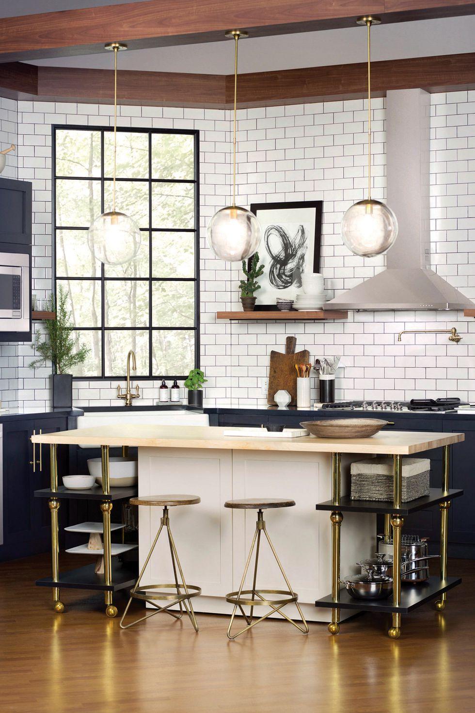 7-Inspirasi-Dapur-Terlihat-Klasik-dengan-Hitam-dan-Putih-ubin