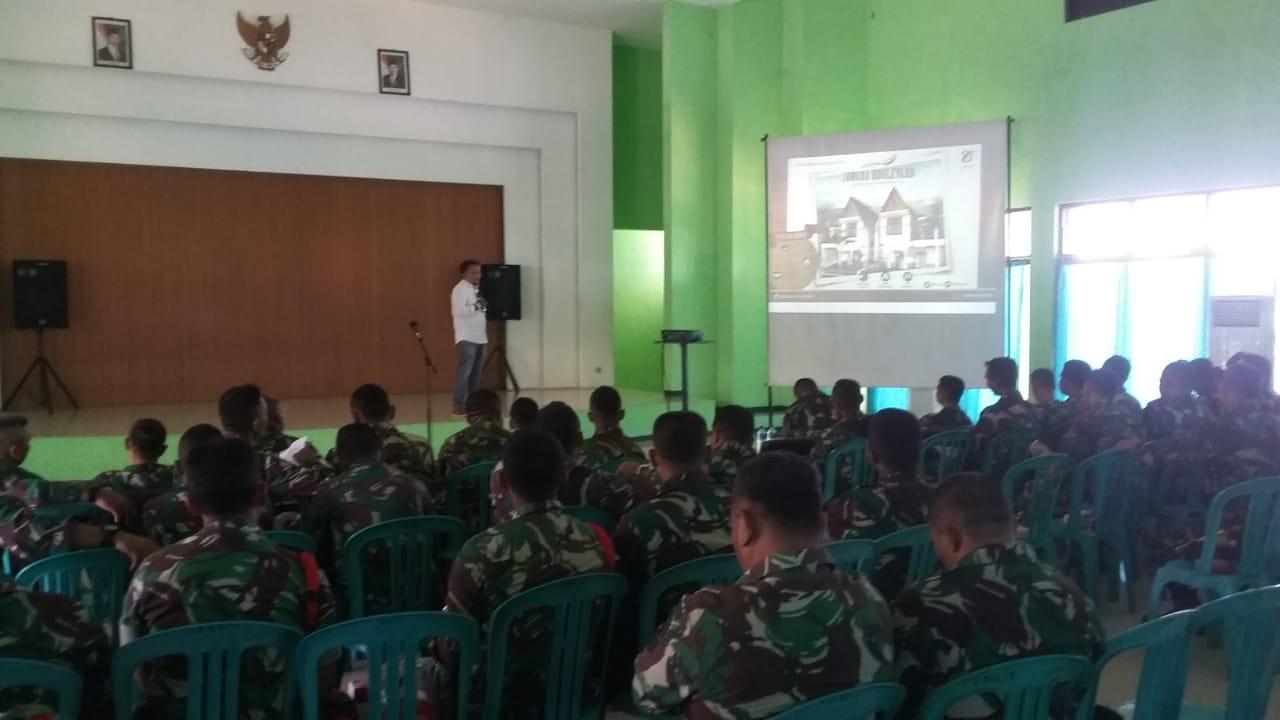 Jawara Bangun Persada Melakukan Sosialisasi TWP di Yonkes 2 Kostrad Malang