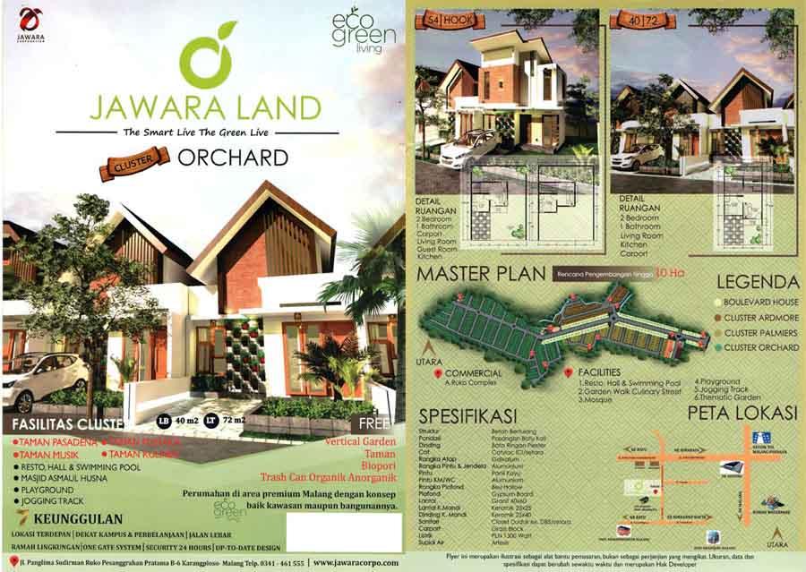 Brosur Jawara Land Malang