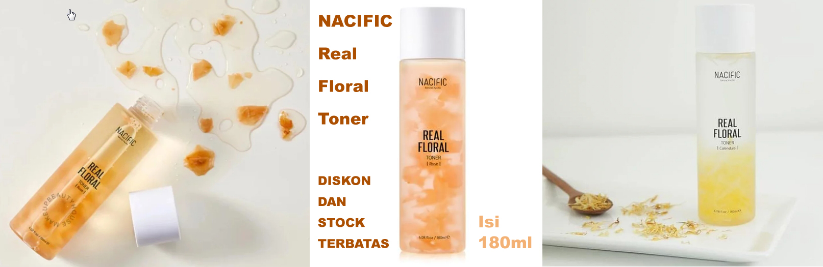NACIFIC Real Floral Toner 180ml