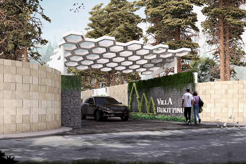 Villa Bukit Pinus Gate