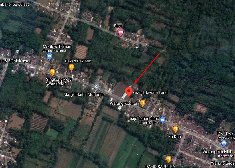 Map Grand Jawara Land