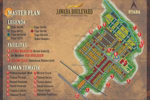 Siteplan Jawara Boulevard