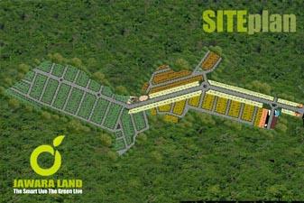 Siteplan Jawara Land