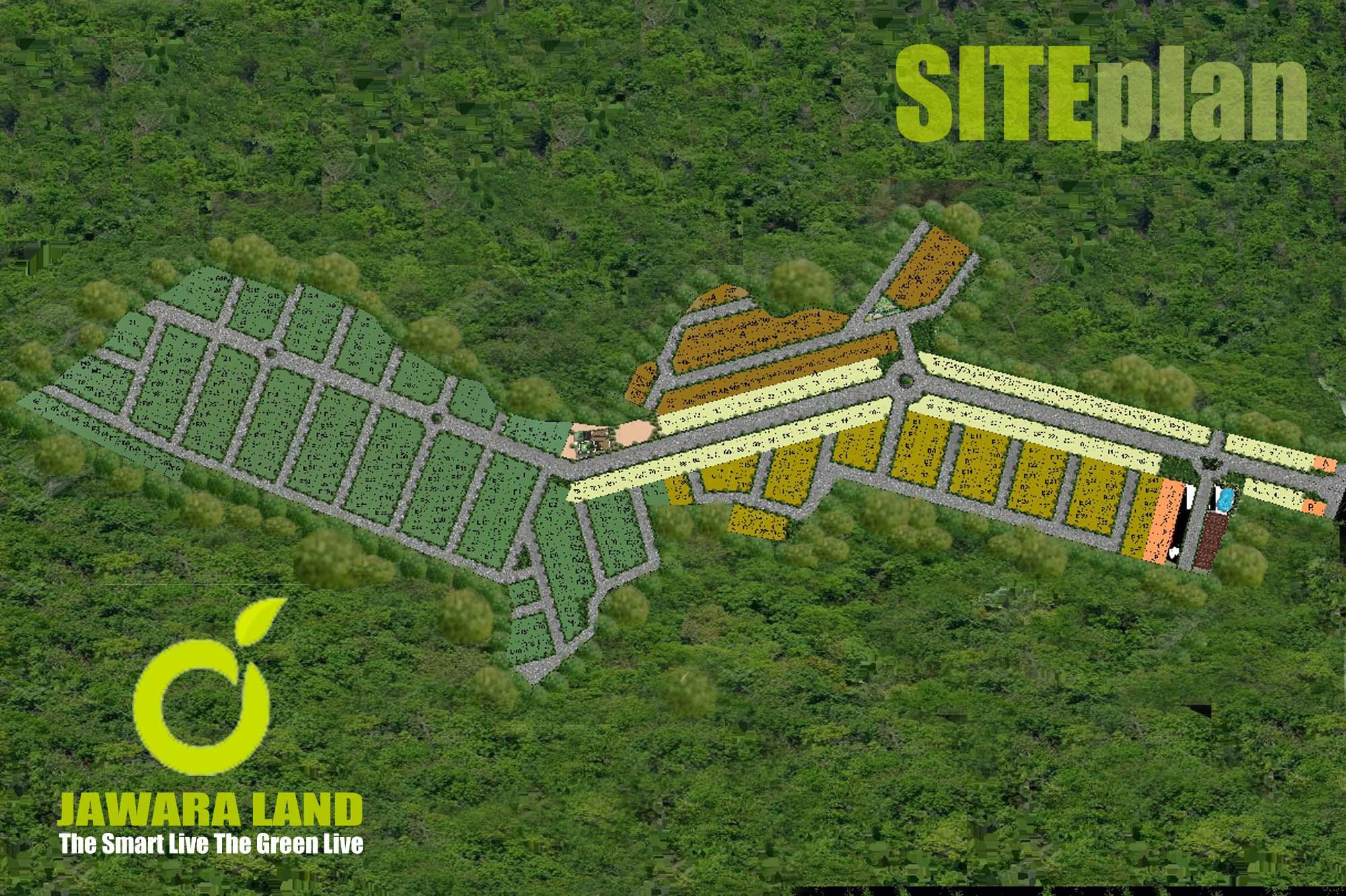 Jawara Land Siteplan