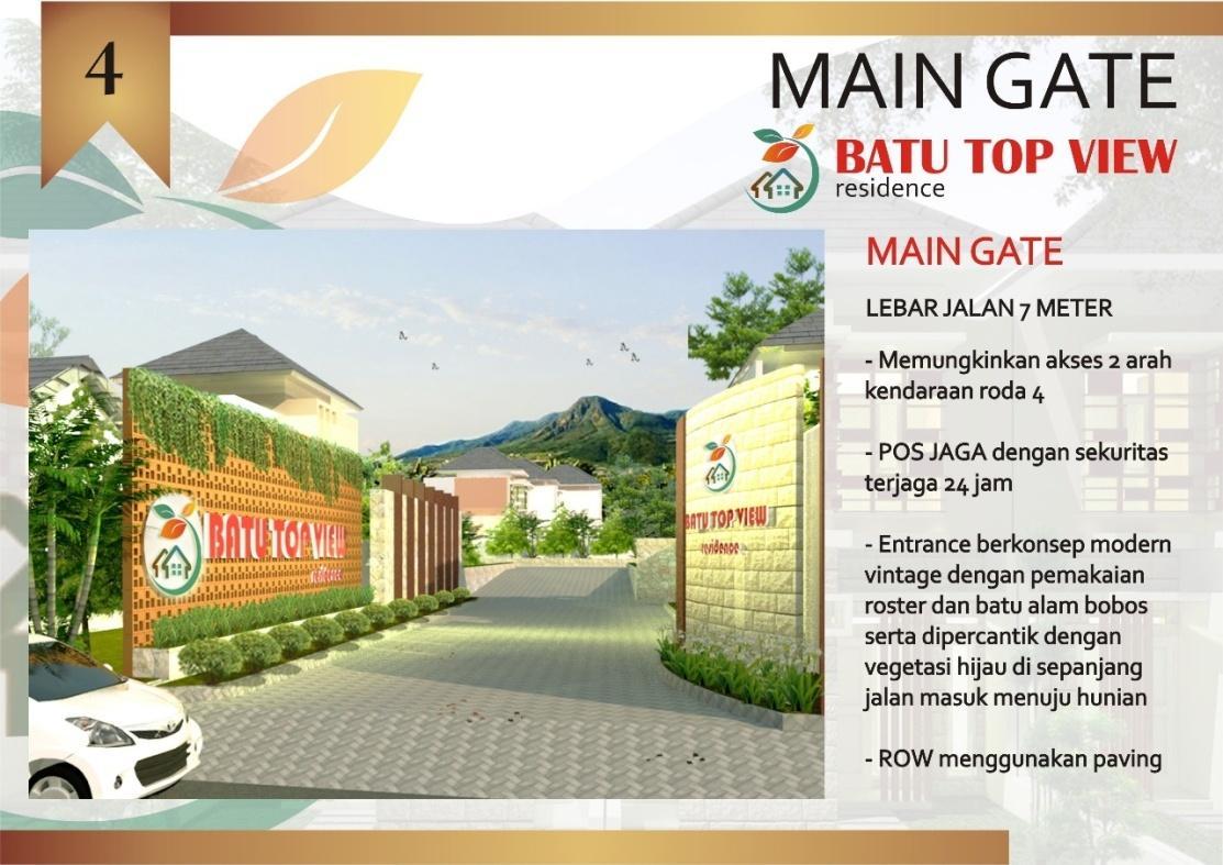 MAIN GATE BATU TOP VIEW