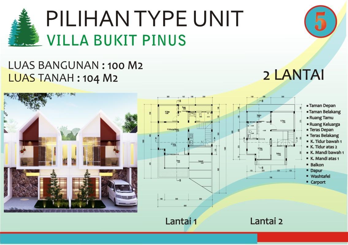 VILLA BUKIT PINUS TYPE 100/104
