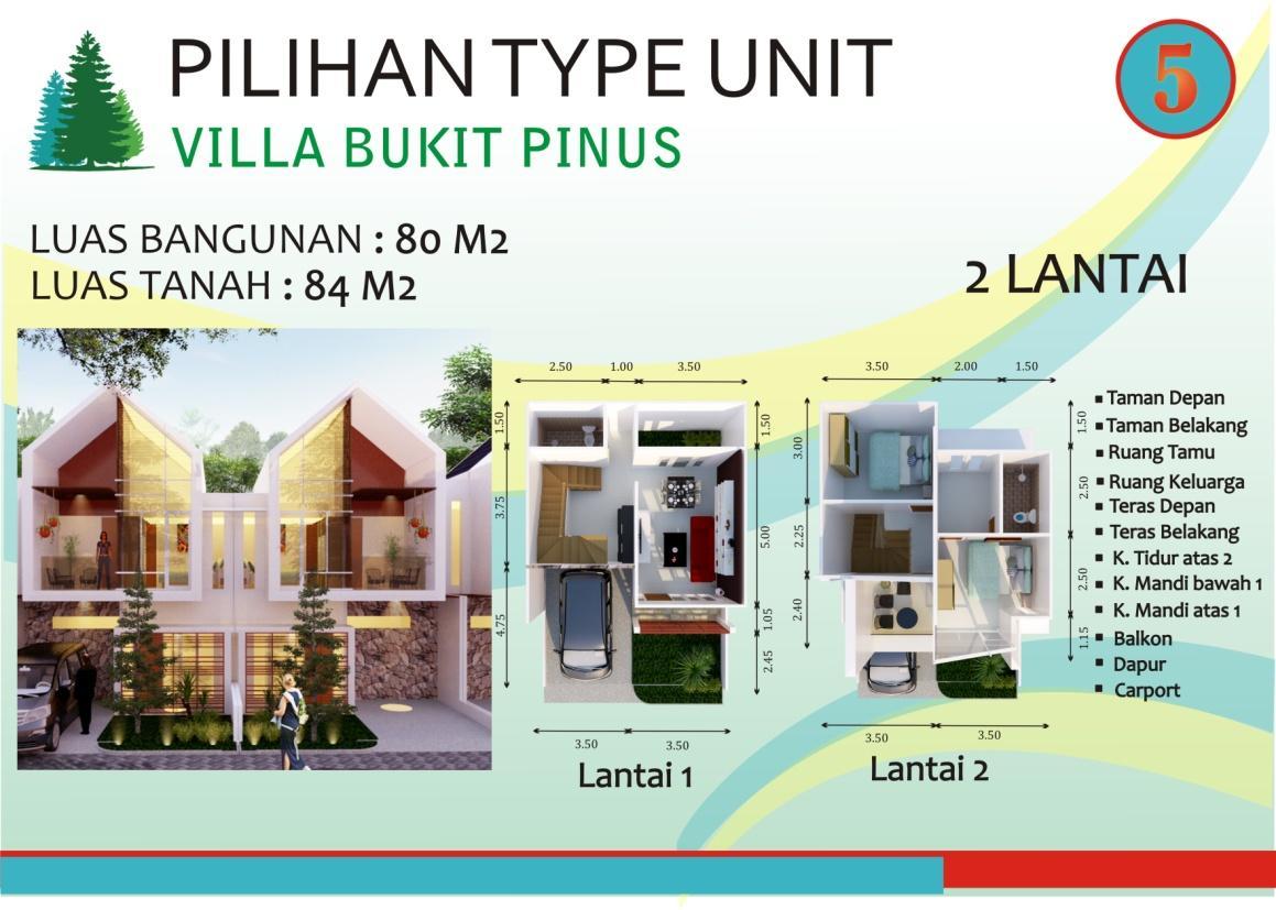 VILLA BUKIT PINUS TYPE 80/84