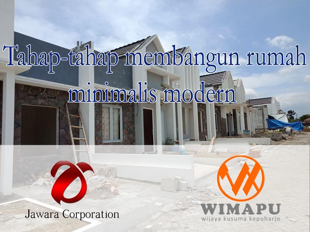 Tahap membangun rumah minimalis