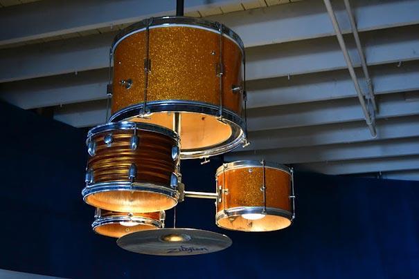 Ide lampu drum