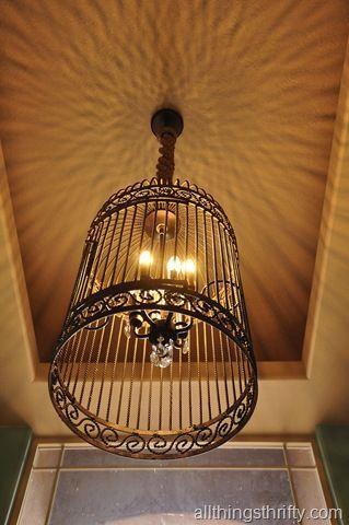 Ide lampu sangkar burung
