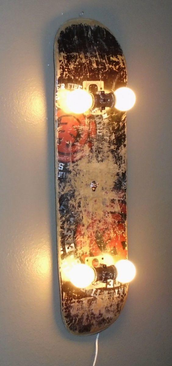 Ide lampu skateboard
