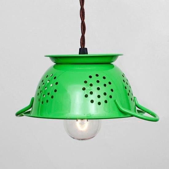 Ide lampu unik dan keren dari barang bekas