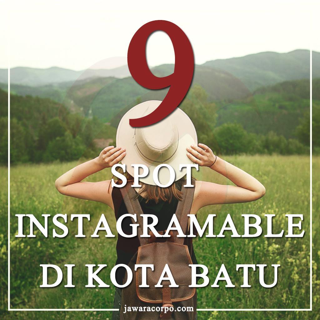 9 spot instagramable batu