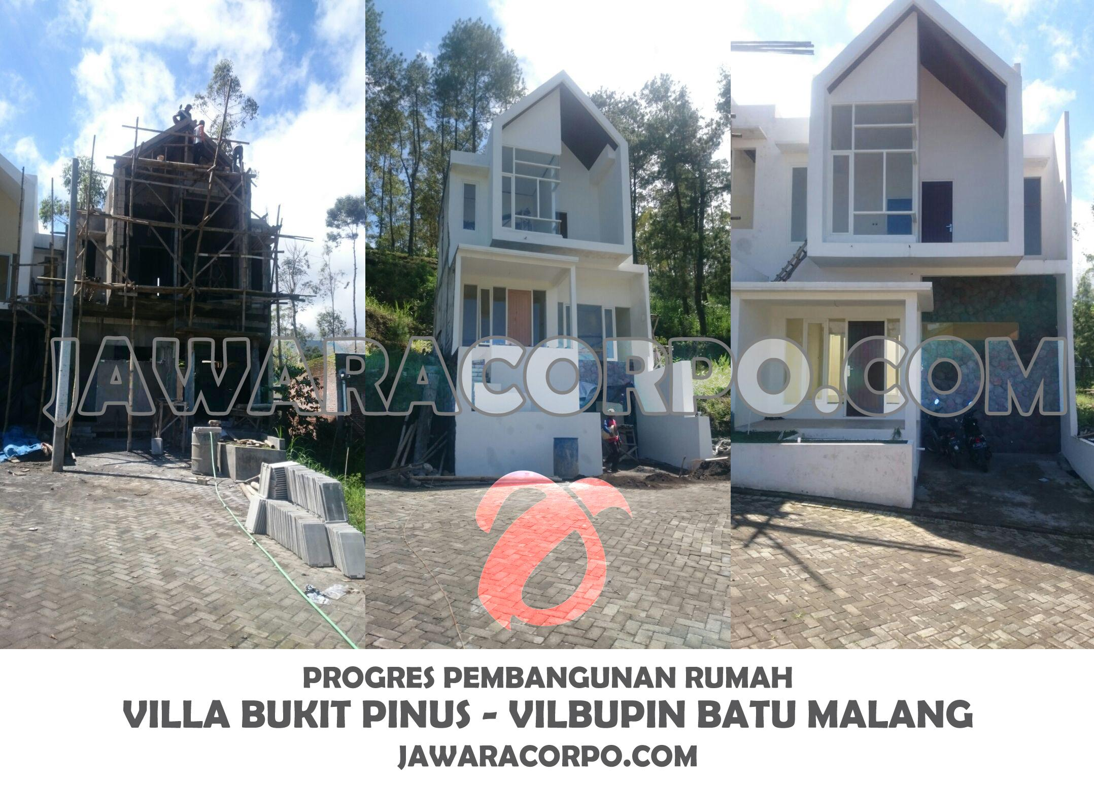ON PROGRES VILLA BUKIT PINUS JANUARI 2018
