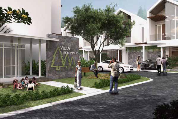 Villa Bukit Pinus Pujon Batu