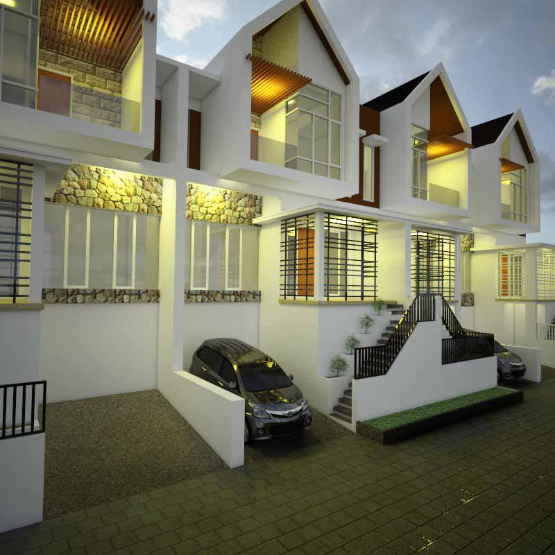 Denah Villa Bukit Pinus Pujon Batu Malang