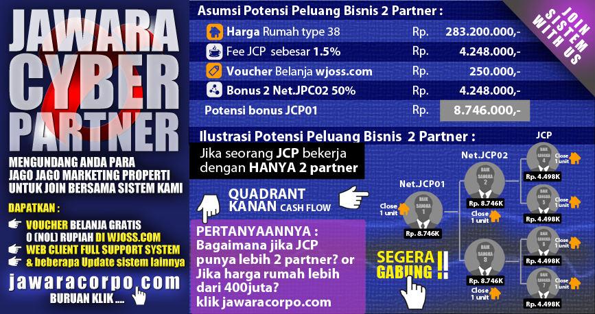 Bergabung menjadi Jawara Cyber Partner