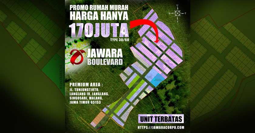 Soft Launching Rumah Murah Jawara Boulevard