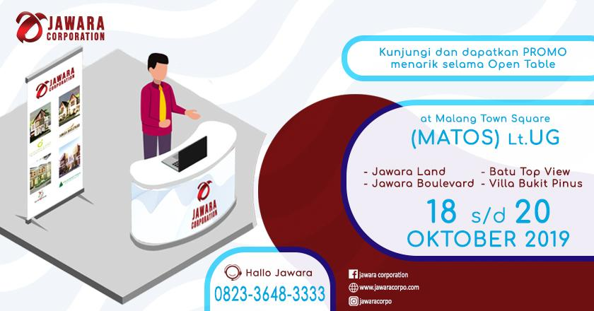 Open Table JAWARA CORPORATION